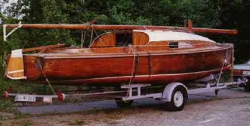 2017 Mahagoni Holzboot